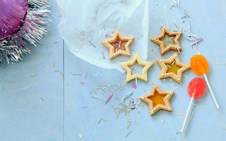 手作りお菓子の新定番、ステンドグラスクッキー♪