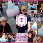 TOTTI CANDY FACTORYの超BIGわたがしin大阪アメリカ村